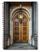 The Big Doors Spiral Notebook