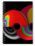 The Big Red One Spiral Notebook