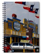 The Big Texan In Amarillo Spiral Notebook