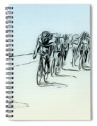 The Bike Race Spiral Notebook