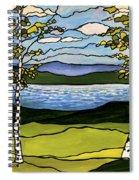 The Birches  Spiral Notebook