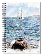The Bird And The Sea Spiral Notebook