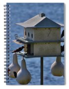 The Bird Hotel Spiral Notebook