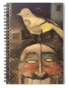 The Birdman Of Alcatraz Spiral Notebook