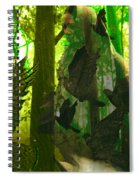 The Birdwoman Spiral Notebook