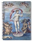The Birth Of Venus Spiral Notebook