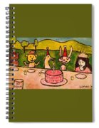 The Birthday Party Spiral Notebook