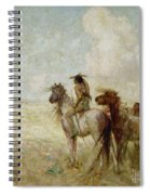 The Bison Hunters Spiral Notebook