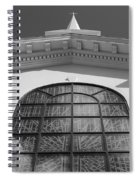 The Black And White Church Spiral Notebook