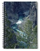 The Black Canyon Of The Gunnison Spiral Notebook