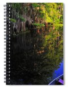 The Black Lagoon Spiral Notebook