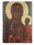 The Black Madonna Of Jasna Gora Spiral Notebook