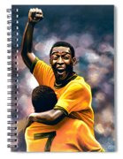 The Black Pearl Pele  Spiral Notebook