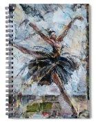 The Black Swan Spiral Notebook