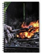 The Blacksmith Spiral Notebook
