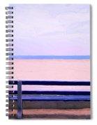The Blue Bench Spiral Notebook