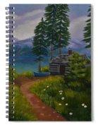 The Blue Canoe Spiral Notebook