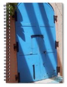 The Blue Door Spiral Notebook