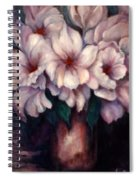 The Blue Flowers Spiral Notebook