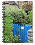 The Blue Gate Spiral Notebook