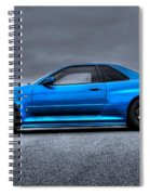 The Blue Ghost Spiral Notebook