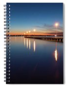 The Blue Hour #2 Spiral Notebook