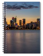 The Blue Hour No. 2 Spiral Notebook