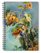 The Blue Jay Who Came To Breakfast Spiral Notebook