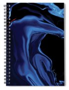 The Blue Kiss Spiral Notebook