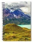 The Blue Massif Spiral Notebook