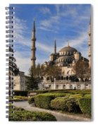 The Blue Mosque In Istanbul Turkey Spiral Notebook