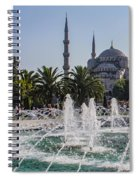 The Blue Mosque Istanbul Spiral Notebook