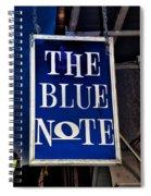 The Blue Note - Bourbon Street Spiral Notebook
