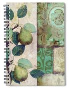 The Blue Pear Spiral Notebook