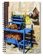 The Blue Wheelbarrow Spiral Notebook