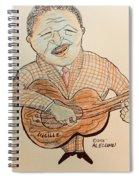 The Blues Man  Spiral Notebook