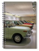 The Bmw Line Up Spiral Notebook
