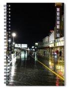 The Boardwalk At Night Spiral Notebook