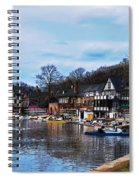 The Boat House Row Spiral Notebook