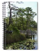 The Boathouse At Watercolor Spiral Notebook