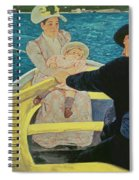 The Boating Party Spiral Notebook