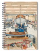 The Boatman Spiral Notebook