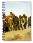 The Boatmen On The Volga Spiral Notebook