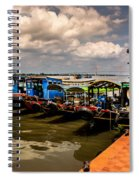 The Boats Spiral Notebook