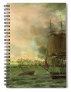 The Bombing Of Cadiz By The French  Spiral Notebook