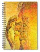 The Bonfire Spiral Notebook