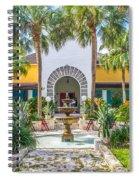 The Bonnet House - Interior Garden Spiral Notebook
