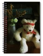 The Book Bear Spiral Notebook