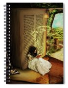 The Book Of Secrets Spiral Notebook