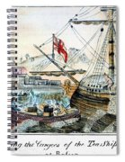The Boston Tea Party, 1773 Spiral Notebook